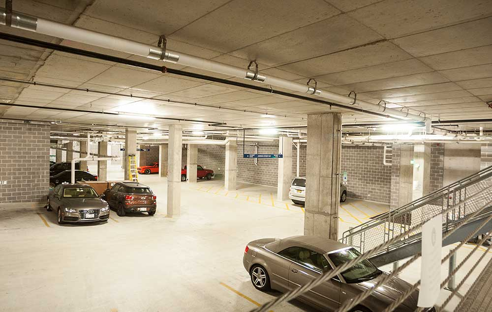 Heated Indoor Parking