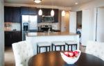 luxury two bedroom apartment kitchen