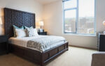 luxury two bedroom apartment with a view of Madison