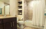 luxury two bedroom apartment bath view