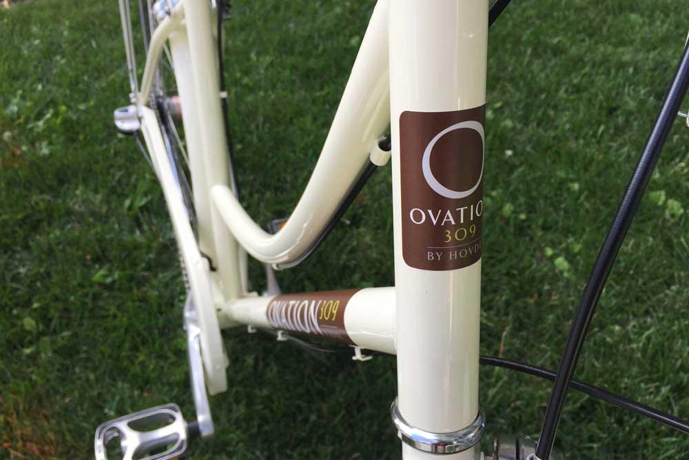 Ovation 309 Custom Branded Bikes for Residents