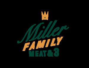 Miller Family Meat & 3 logo