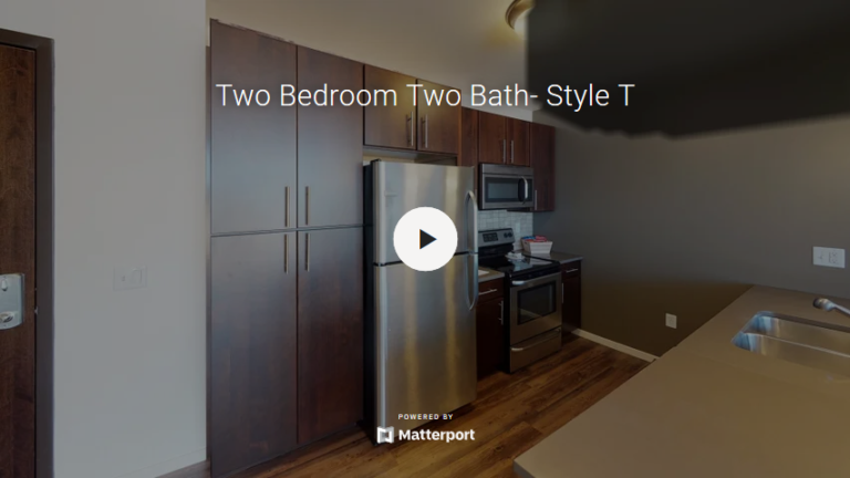 Two Bedroom Two Bath - Style T