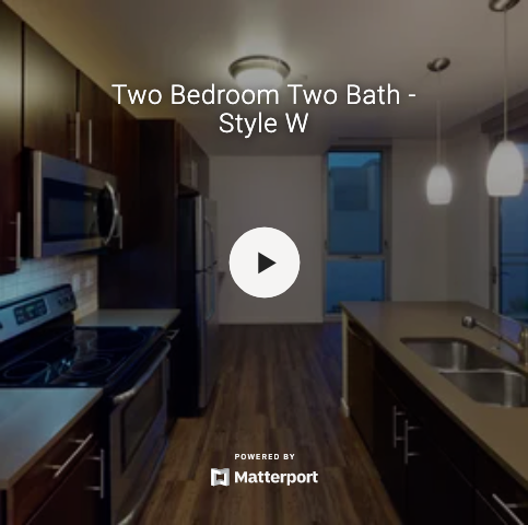 Two Bedroom Two Bath - Style W